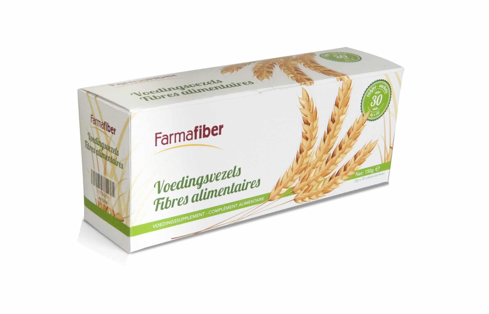 De zakjes Farmafiber bevatten pure suikerbietvezels