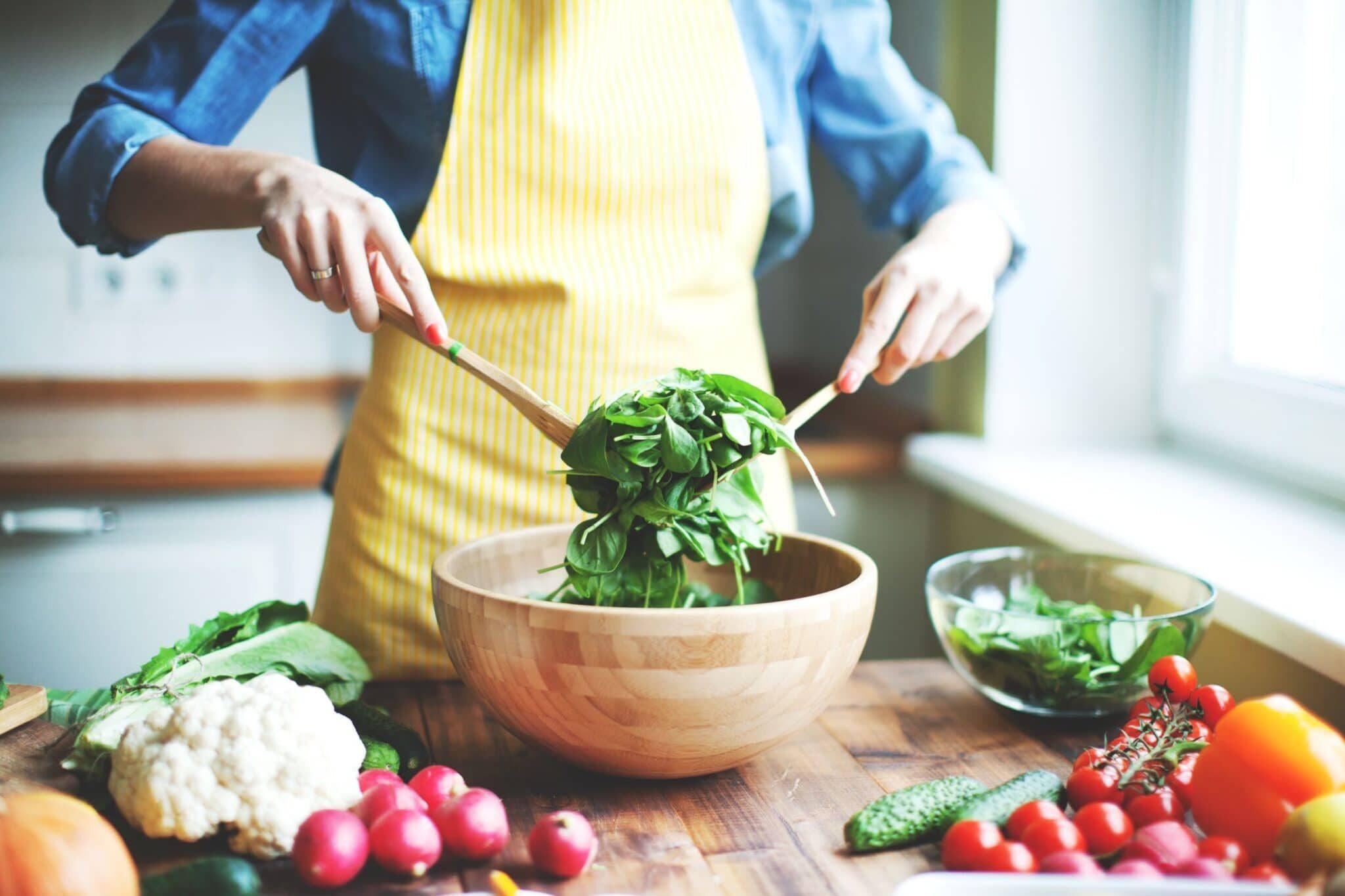 Rauwkost salades zonder spijsverteringsklachten